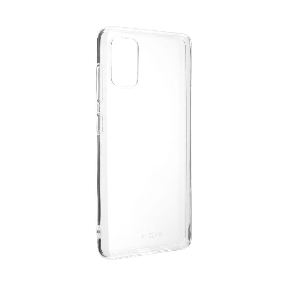 Ultratenké TPU gelové pouzdro FIXED Skin pro Samsung Galaxy A41, 0,6 mm, čiré