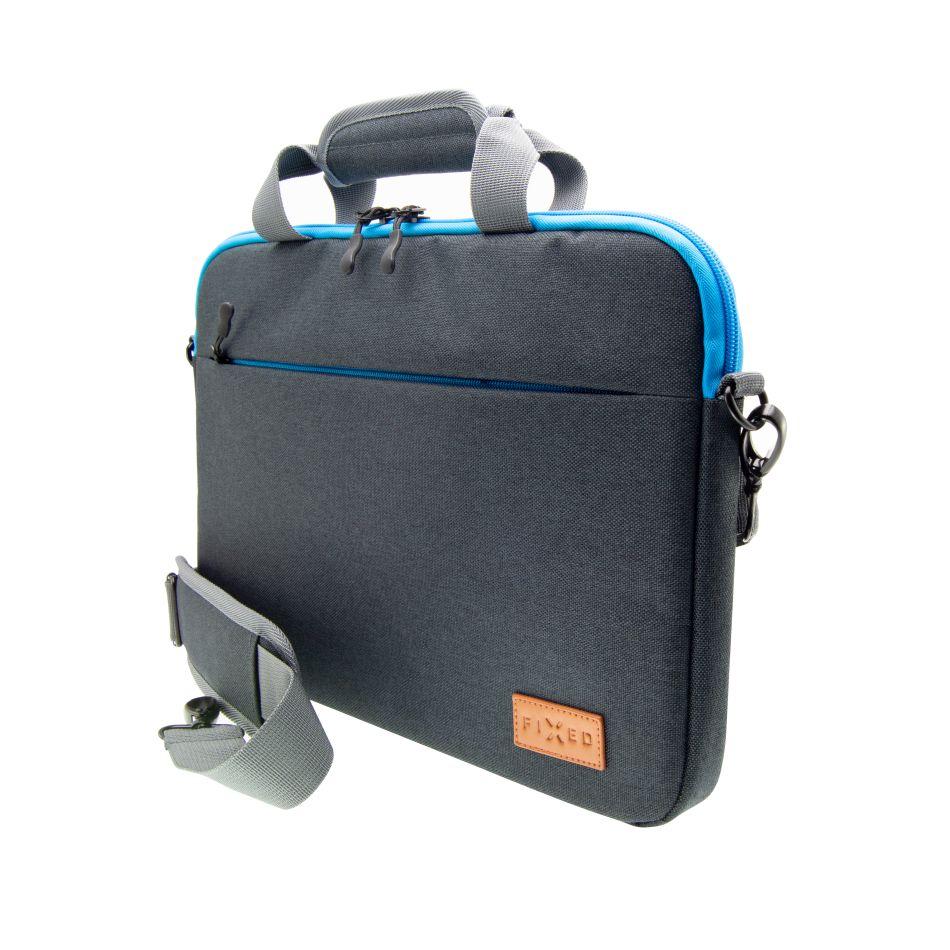 """Nylonová taška FIXED Urban pro notebooky do 15,6"""", černé - FIXED Urban FIXURB-15-GR 15,6"""