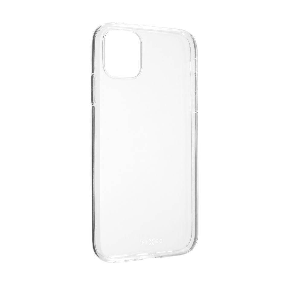 Ultratenké TPU gelové pouzdro FIXED Skin pro Apple iPhone 11, 0,6 mm, čiré