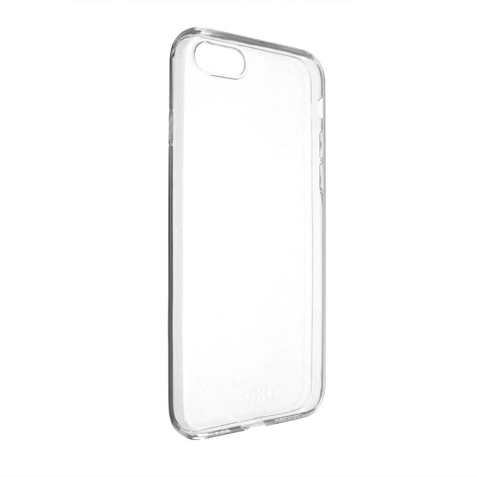Ultratenké TPU gelové pouzdro FIXED Skin pro Apple iPhone 7/8/SE (2020), 0,6 mm, čiré