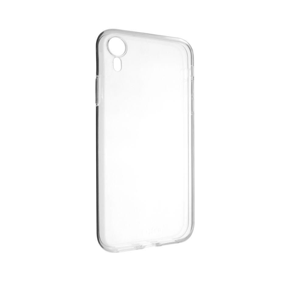 Ultratenké TPU gelové pouzdro FIXED Skin pro Apple iPhone XR, 0,6 mm, čiré