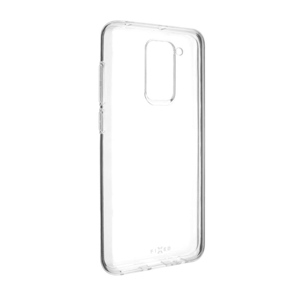 FIxed TPU gelové pouzdro pro Xiaomi Redmi Note 9, čiré