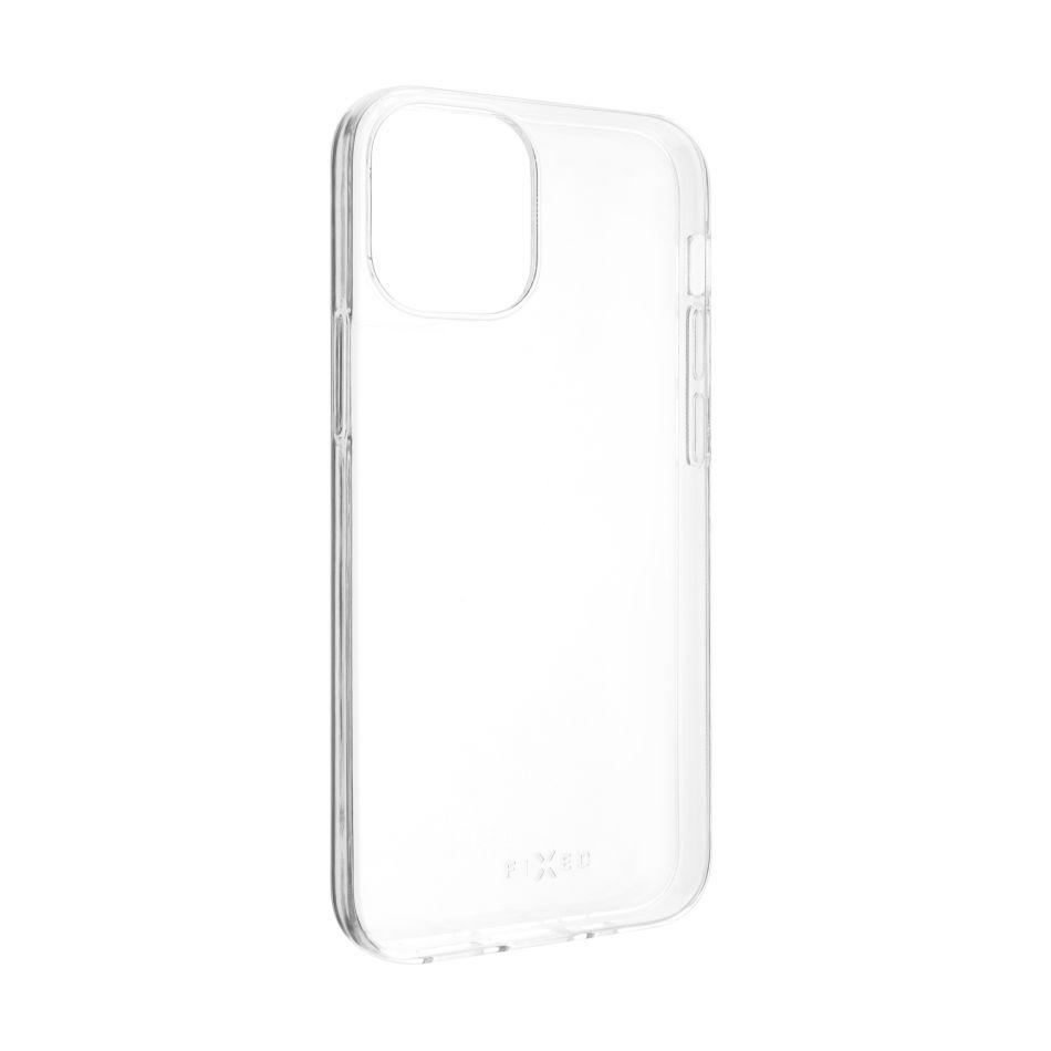 Ultratenké TPU gelové pouzdro FIXED Skin pro Apple iPhone 12 mini, 0,6 mm, čiré