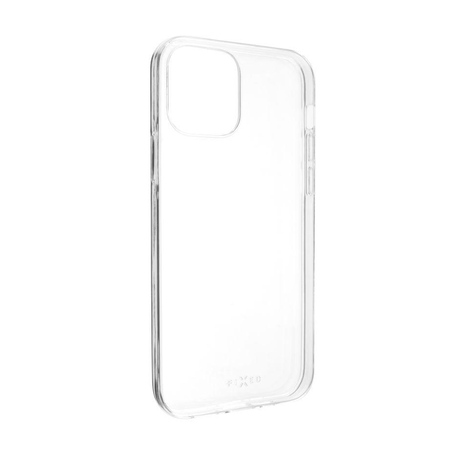 Ultratenké TPU gelové pouzdro FIXED Skin pro Apple iPhone 12/12 Pro, 0,6 mm, čiré