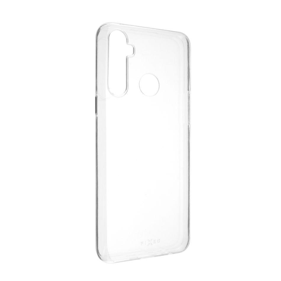 Ultratenké TPU gelové pouzdro FIXED Skin pro Realme 6i/C3/5, 0,6 mm, čiré