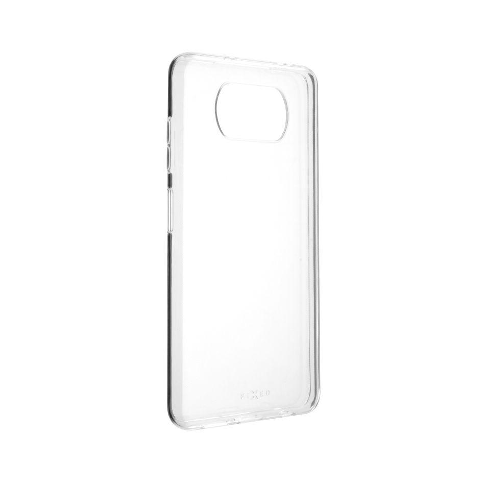 TPU gelové pouzdro FIXED pro Xiaomi Poco X3/X3 Pro, čiré