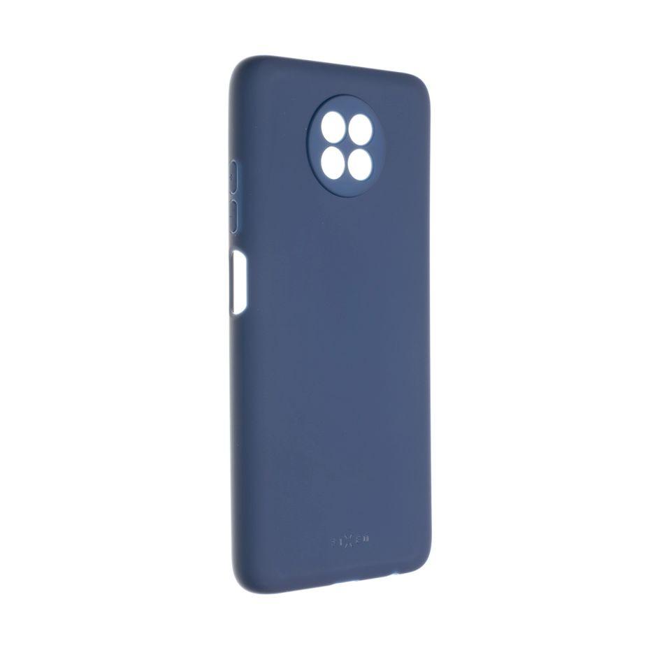 pouzdro na mobil Zadní pogumovaný kryt Fixed Story pro Xiaomi Redmi Note 9T, modrý