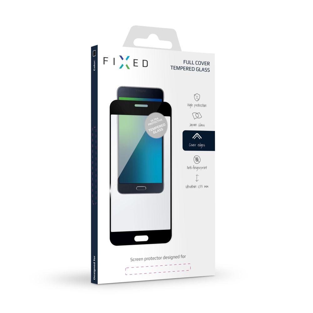 Ochranné tvrzené sklo FIXED Full-Cover pro Samsung Galaxy J5 (2017), přes celý displej, černé, 0.33 mm