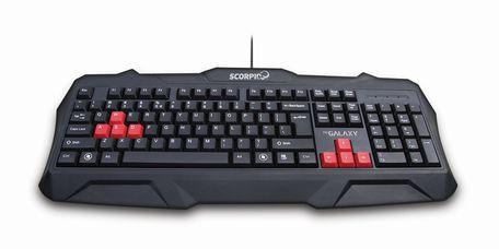 AQ Galax.Scorpio game klávesnice GGK01SC