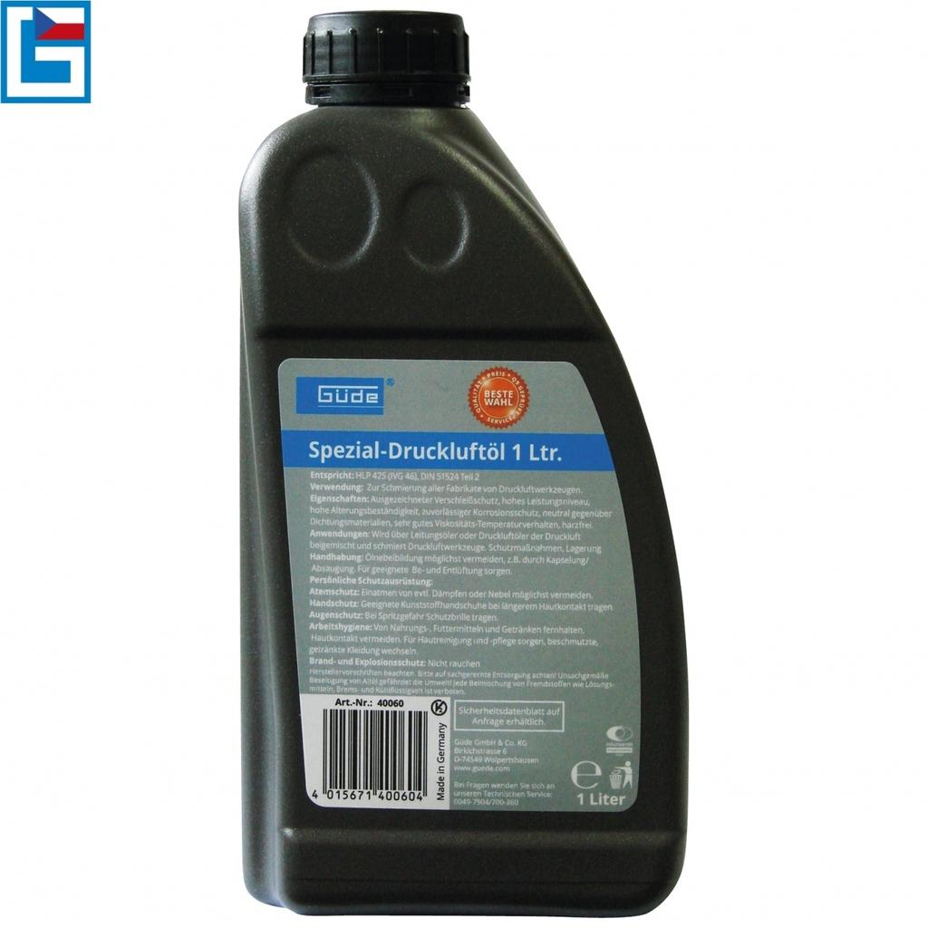 Güde Olej pro pneumatické nářadí 1 l(HLP 425) - Güde 40060 pro kompresorové nářadí 1l