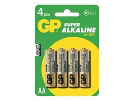 GP B1321 15A LR6 - Baterie GP Super AA 4ks - blistr