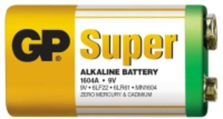 Gp baterie B1351 1604A 9V