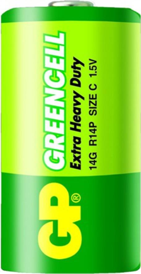 GP B1231 14G R14 blistr06 - Baterie GP Greencell R14 1ks