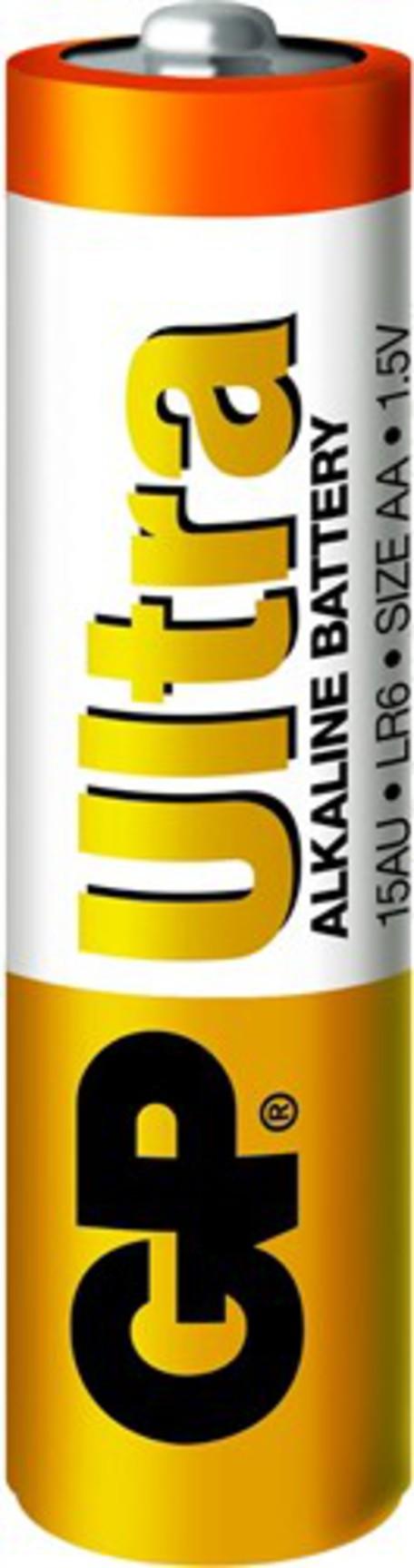 Baterie GP Ultra Alkaline LR06 (AA) blistr 4 kusy - GP Ultra AA 4ks 1014214000