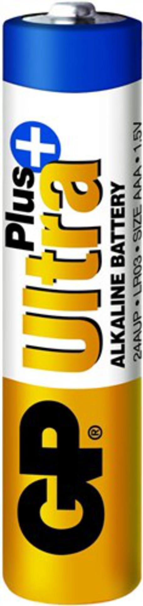 GP B1711 BAT. ULTRA PLUS LR03 4BL - Baterie GP AAA Ultra Plus 4ks