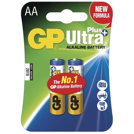 GP B17212 GP 15AUP LR6 BLISTR/2 - Baterie GP AA Ultra Plus 2ks