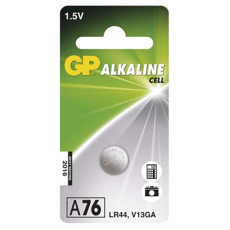 GP B13762 LR44 (A76) 1BL - Baterie GP A76 1ks