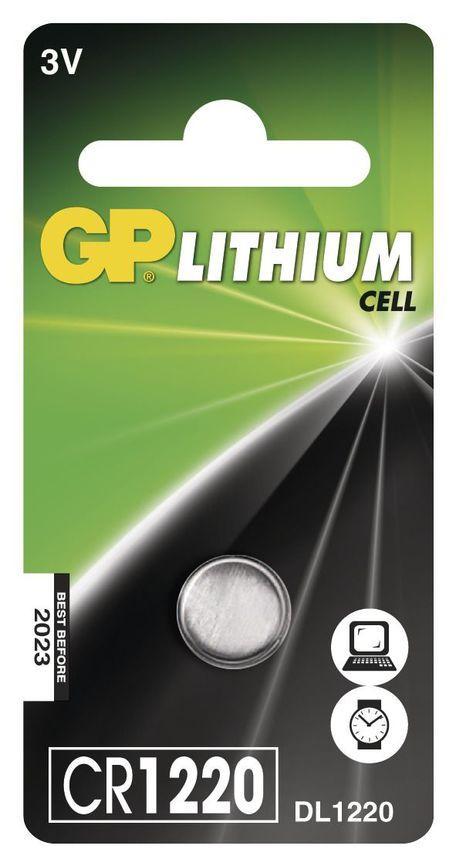 GP B15201 BAT. KNOF. CR1220 1BL - Baterie GP CR1220 1ks