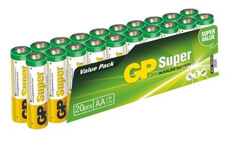 GP B1320L BAT. SUPER LR6 20SH