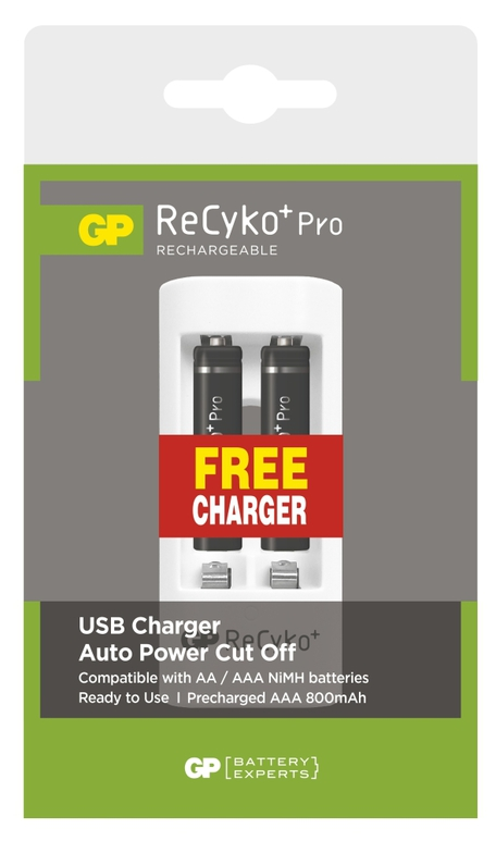 GP B08182U RECYKO PRO HR03 2PB+USB