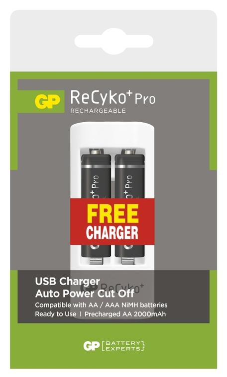 GP B08272U RECYKO PRO HR6 2PB+USB