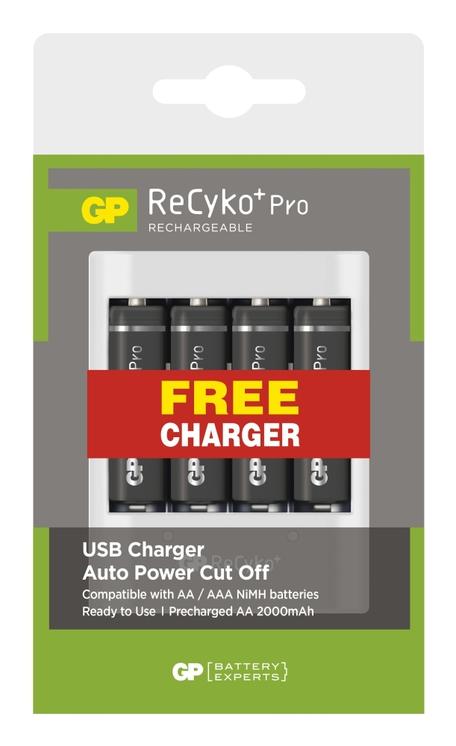GP B08274U RECYKO PRO HR6 4PB+USB