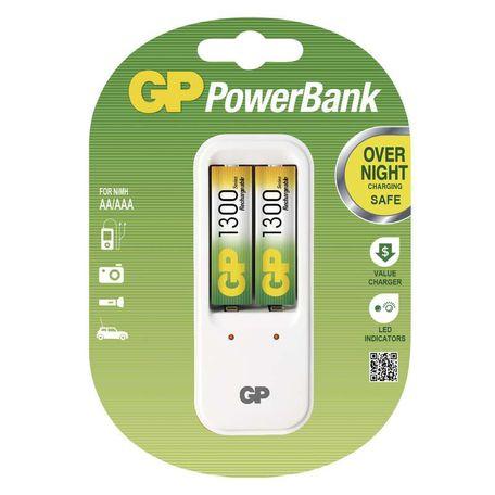 GP B0041 PB410 + 2x AA GP1300NiMH