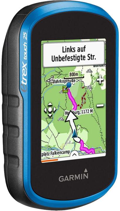 Garmin eTrex Touch 25 Europe 46