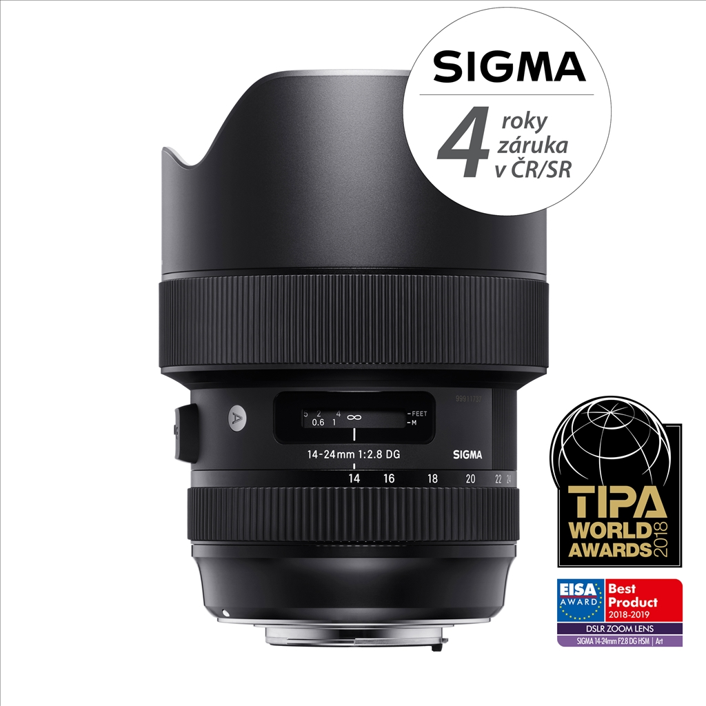 SIGMA 14-24/2.8 DG HSM ART Canon + DOPRAVA ZDARMA