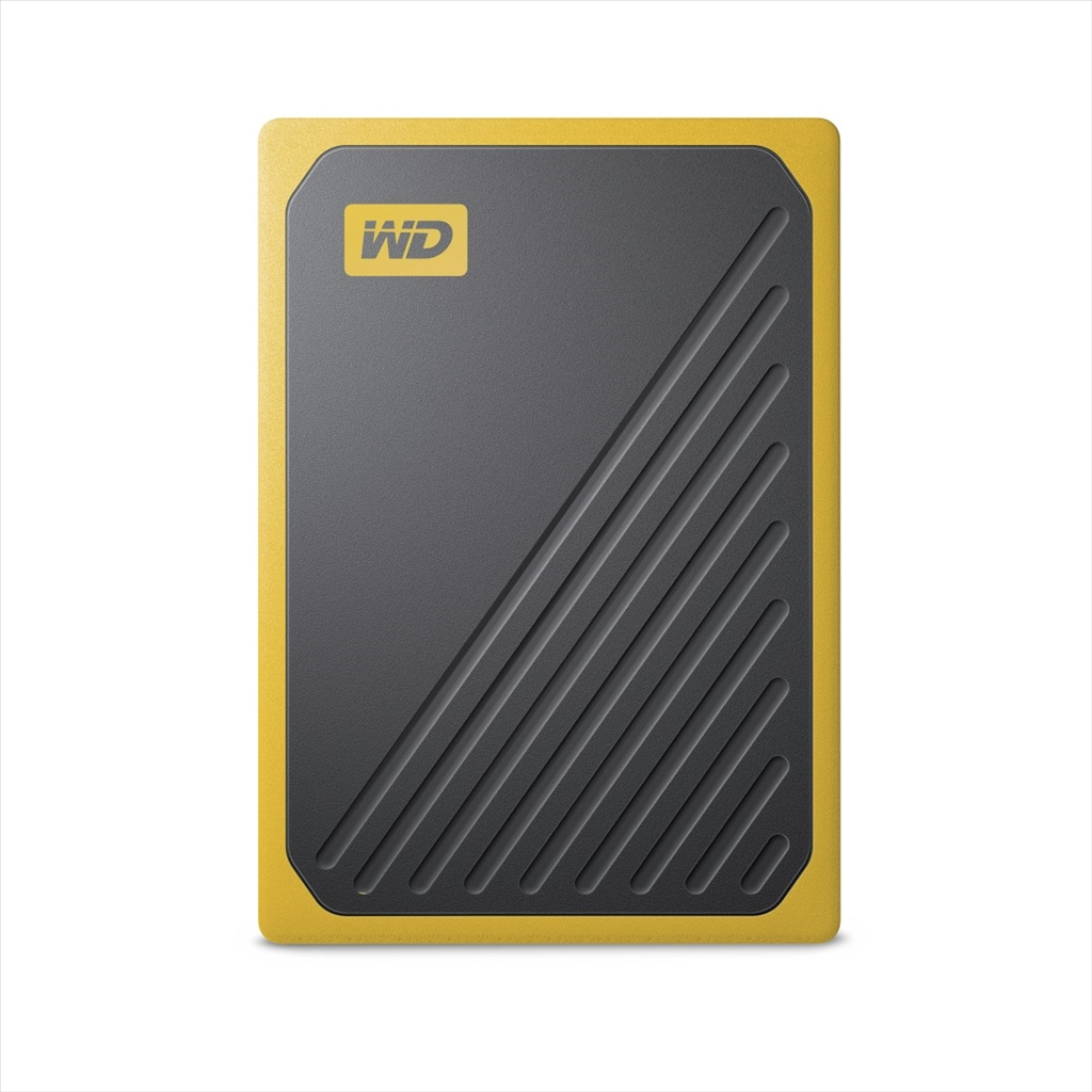 Western Digital My Passport GO - 1TB SSD, žlutá