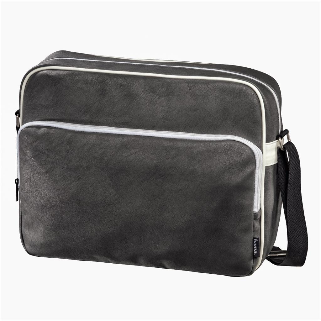 """Hama brašna na Notebook Quarterbag, 15.6"""", černá / bílá - Brašna HAMA 101242 15,6"""" black/white"""