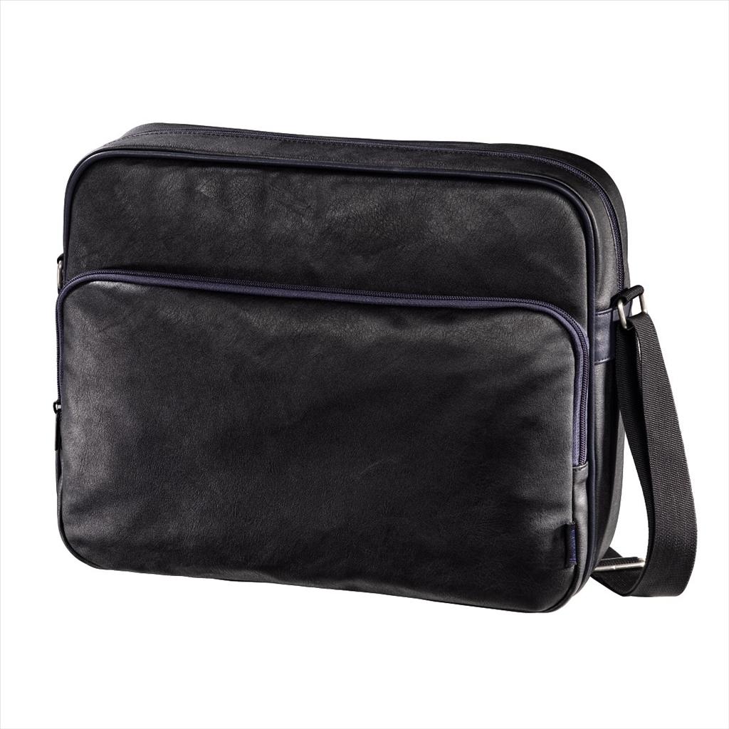 """Hama brašna na Notebook Quarterbag, 40 cm (15.6""""), černá / modrá"""