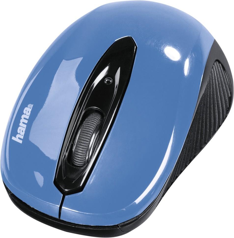 """Hama optická myš """"AM-7300"""", černá/modrá - Hama AM-7300 86566"""