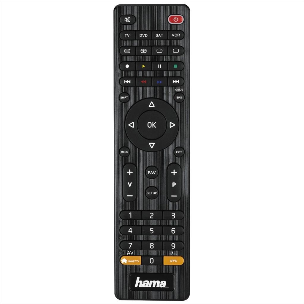 HAMA 12306 univerzální dálkový ovladač 4v1, smart TV