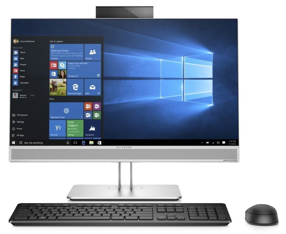 Hp stolní počítač Eliteone 800 G5 7Xk55aw