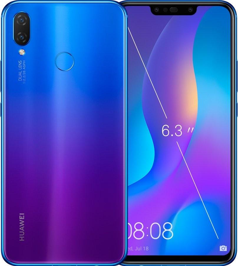 Huawei nova 3i, 4/128GB, Dual SIM, fialová