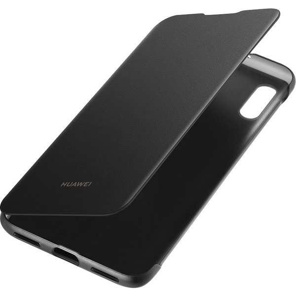 Huawei Folio Pouzdro pro Y6 2019 černé - Pouzdro Huawei Original folio Y6 2019 černé