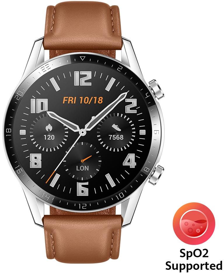 Huawei Watch GT 2 hnědá