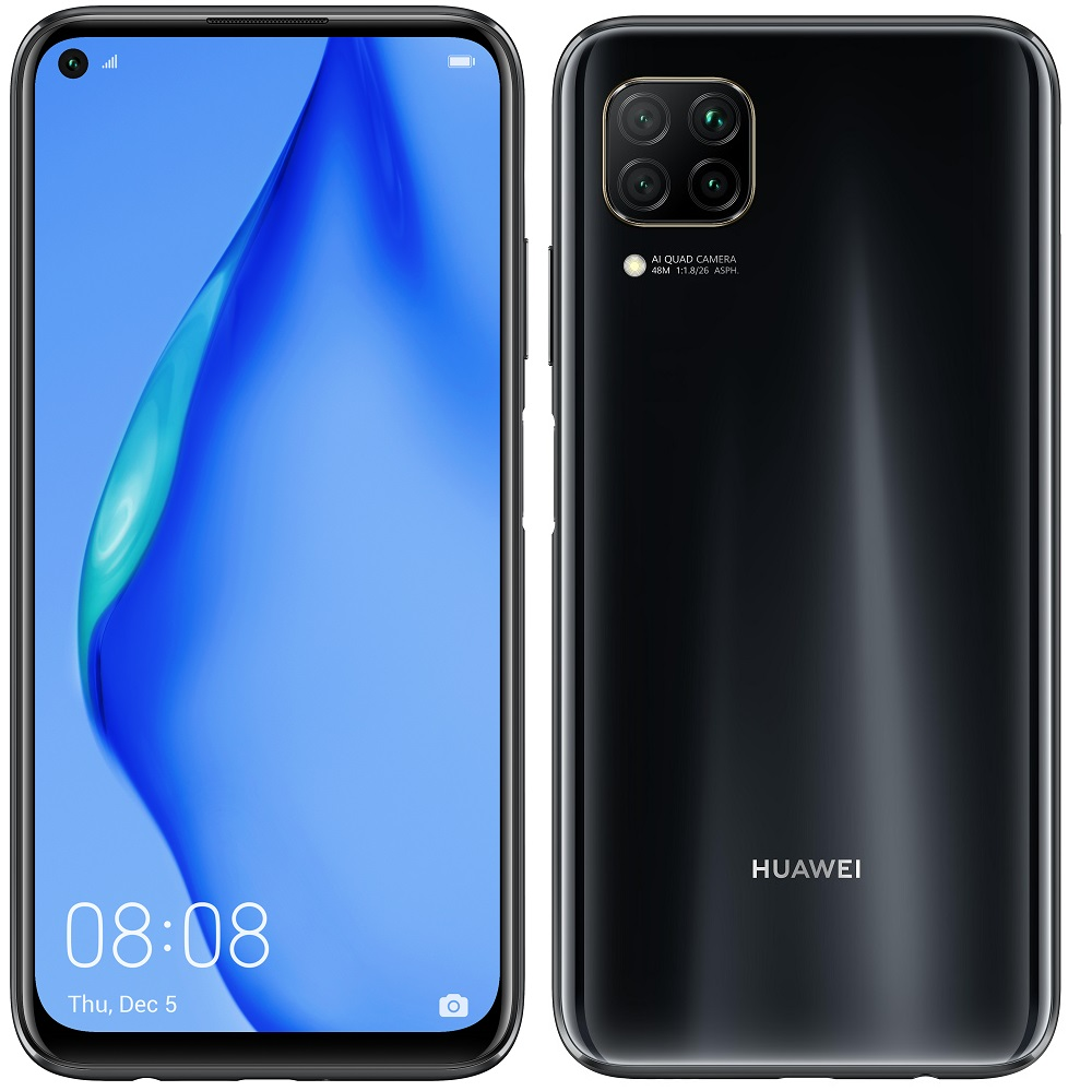 Huawei P40 Lite, 6GB/128GB, Midnight Black
