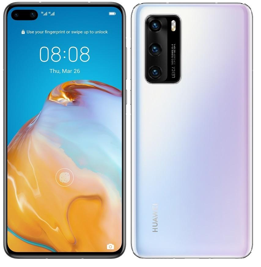 Huawei P40 bílá