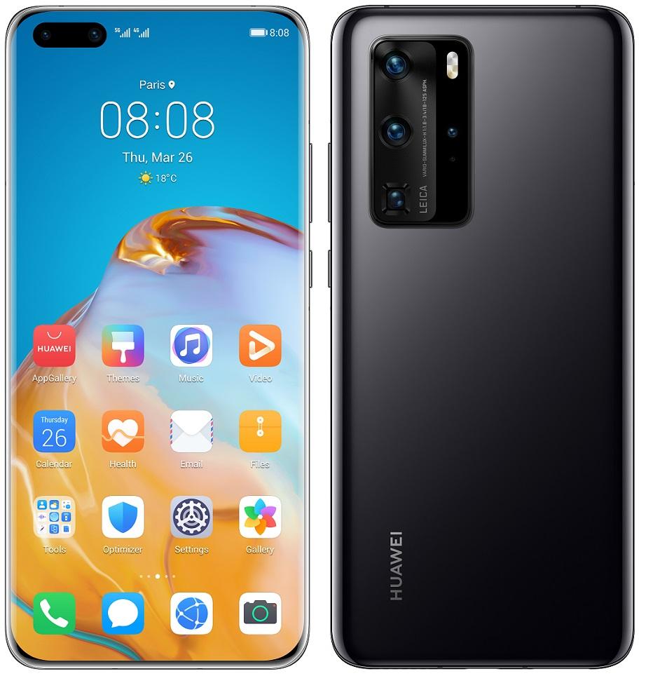 Huawei P40 Pro černá