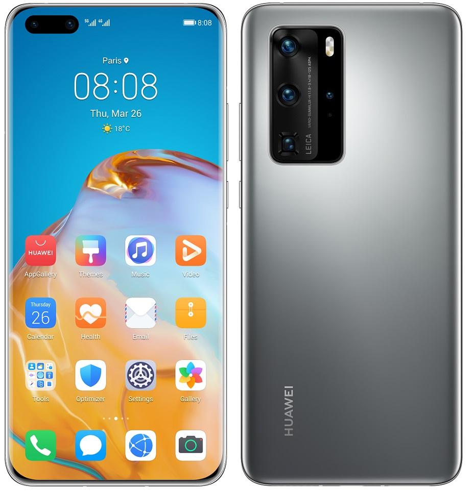 Huawei P40 Pro stříbrná
