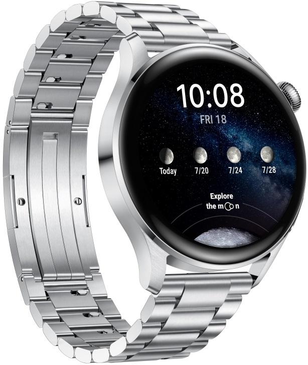 Huawei chytré hodinky Watch 3 Elite Stainless