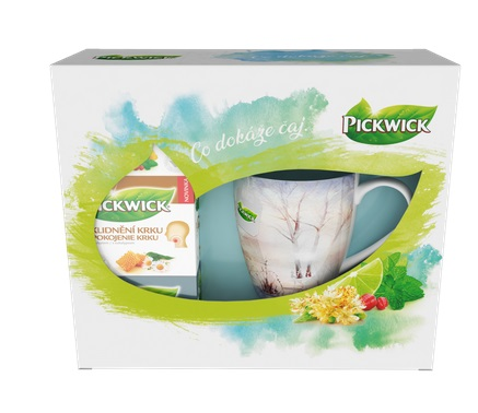 Pickwick dárkové balení čajů + hrníček