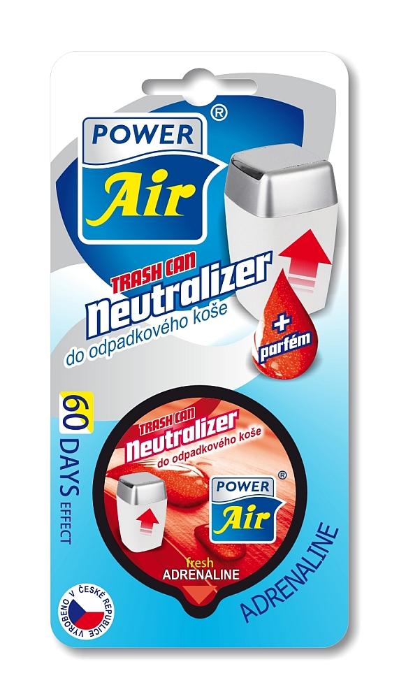 Jees Neutralizér do odpadkových košů s vůní - Power Air Wellness Neutralizátor 1 ks