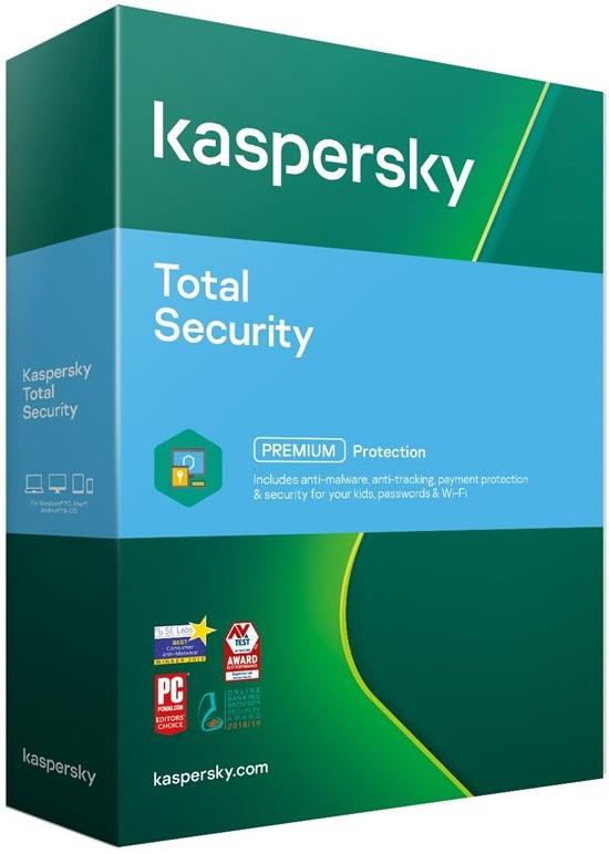 Kaspersky Total Security - 3 zařízení