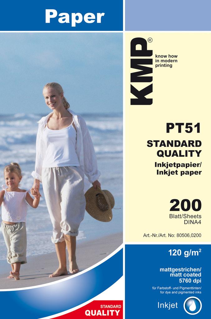 KMP PT51 kancelářský papír A4