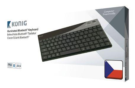 König Podsvícená klávesnice CSKBBT300CZ