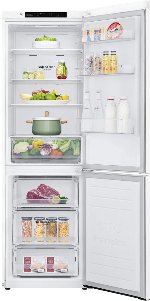 Lg lednice s mrazákem dole Gbp61swpfn