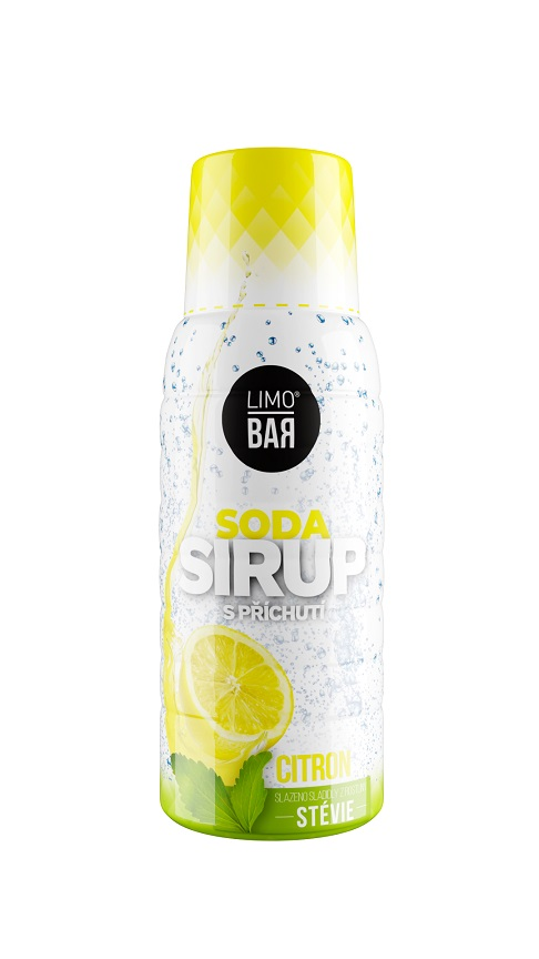 LIMO BAR Citron Stévia - Limo Bar sirup Lemon 500ml